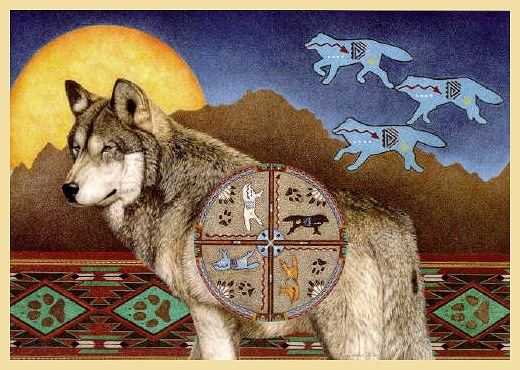 Nancy Wood Taber: Wolf Moon Dancer